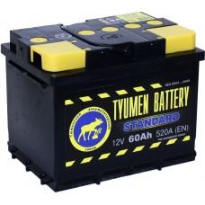TYUMEN BATTERY 60 A/h Пусковой ток EN520А Обратный-+