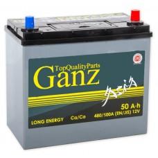 GANZ ASIA 50 A/h Пусковой ток EN480А Обратный-+
