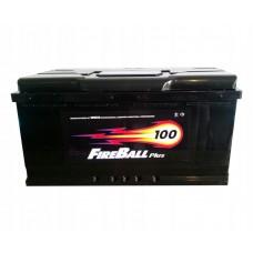 Fire Ball 100 A/h Пусковой ток EN810А Обратный-+