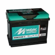 Аккумулятор MIDAC 62 Ah Обратный[-+] низкий