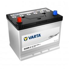 VARTA Стандарт 70 A/h Азия Пусковой ток EN620А Прямой+-