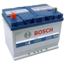 BOSCH S4 70 A/h Азия Пусковой ток EN 630А Прямой+-