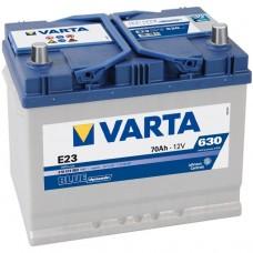 Аккумулятор Varta Blue Dynamic 70 Ah Прямой[+-]