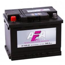 AFA 60 A/h Пусковой ток EN540А Прямой+-