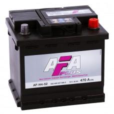 AFA 52 A/h Пусковой ток EN470А Обратный-+ кубик