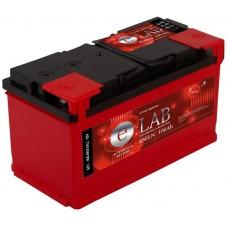 E-LAB 100 A/h Пусковой ток EN850А Обратный -+