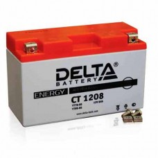 Аккумулятор Delta CT 1208 (YT7B-BS) 8Аh EN130 Прямая+-