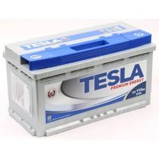 TESLATESLA PREMIUM 110 A/h Пусковой ток EN970А Обратный-+