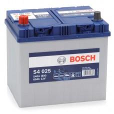 BOSCH S4 60 A/h Азия Пусковой ток EN540А Прямой+-