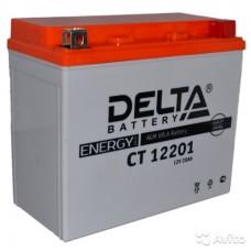 Delta RE 12201 (YTX20L-BS) 20Аh EN270 Обратный-+