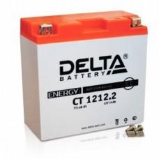 Аккумулятор Delta CT 1212.2 (YT14B-BS) 14Аh EN155 Прямая+-