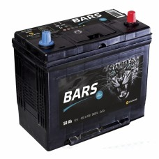 BARS ASIA  50 A/h Пусковой ток EN450А Обратный-+