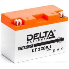 Аккумулятор Delta CT 1209.1 (YT9B-BS) 9Аh EN130 Прямая+-