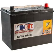MONBAT F 70 A/h Азия Пусковой ток EN540А Обратный-+