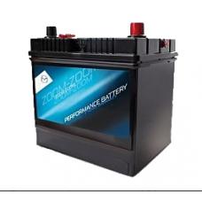 Аккумулятор MAZDA 70 A/h Азия Пусковой ток EN570А обратный-+