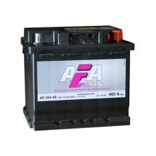 AFA 45 A/h Пусковой ток EN400А Обратный+- кубик