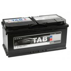 TAB POLAR 110 A/h Пусковой ток EN1000А Обратный -+