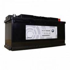 BMW  AGM 105 A/h Пусковой ток EN950А Обратный-+