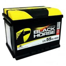Black Horse 55 A/h Пусковой ток EN510А Прямой+-