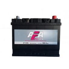 AFA  68 A/h Азия Пусковой ток EN550А Обратный-+