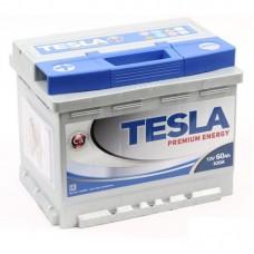 TESLATESLA PREMIUM 60 A/h Пусковой ток EN620А Обратный-+
