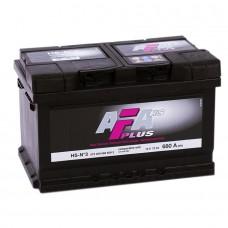 AFA 72 A/h  Пусковой ток EN680А обратный-+ низкий